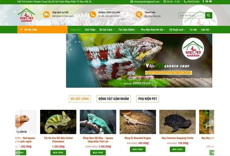 top shop ban rong nam my iguana tphcm
