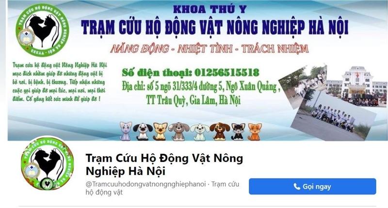 tram cuu ho dong vat nong nghiep hn