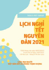 lich nghi tet nguyen dan 2021 yolo pet shop