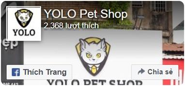fanpage yolo pet shop